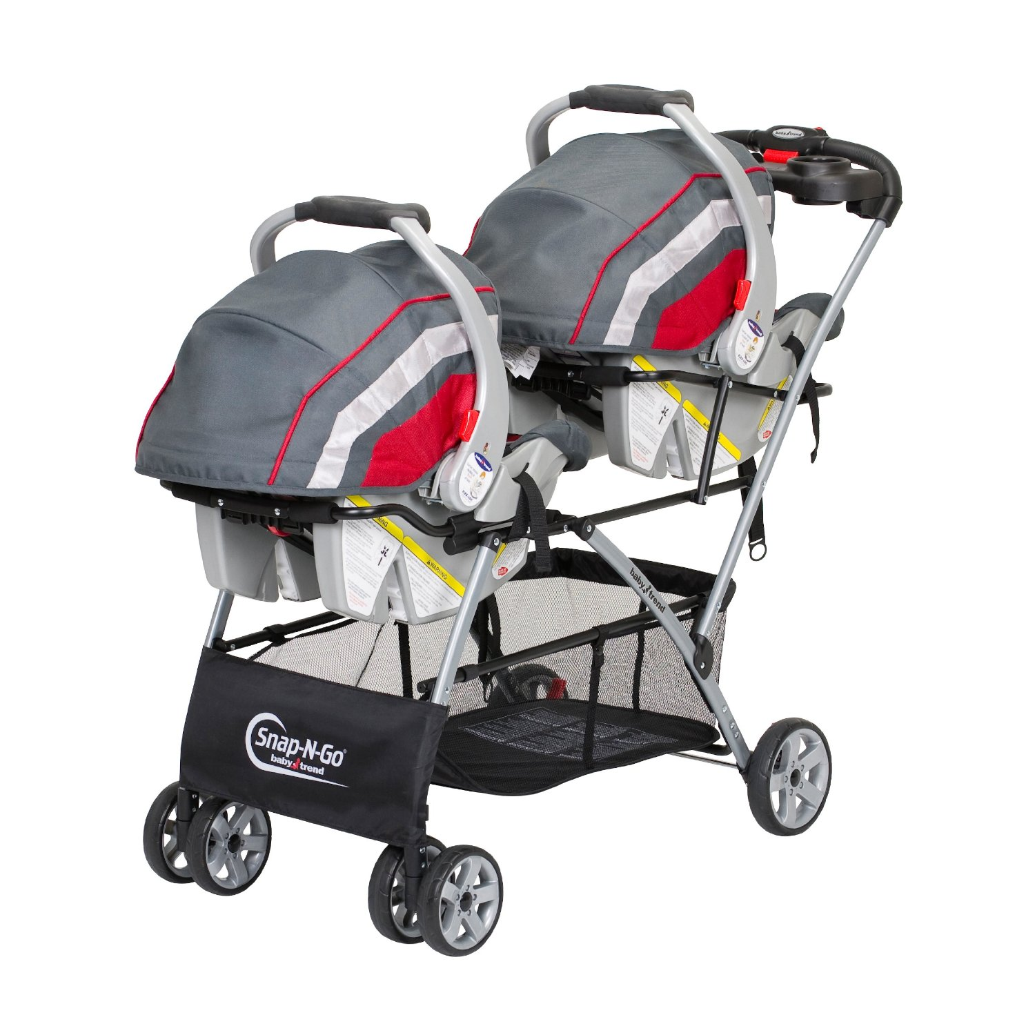 Double Stroller With One Infant Car Seat