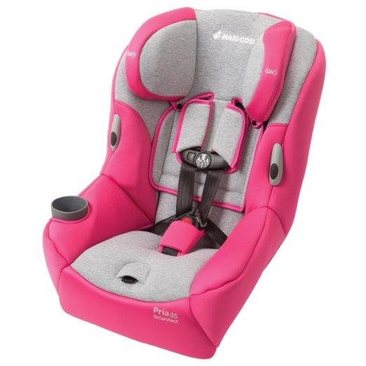 Pink convertible Car Seat