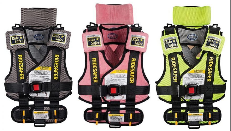 Ride Safe Vest >> Ride Safer Travel Vest Review Kid Sitting Safe
