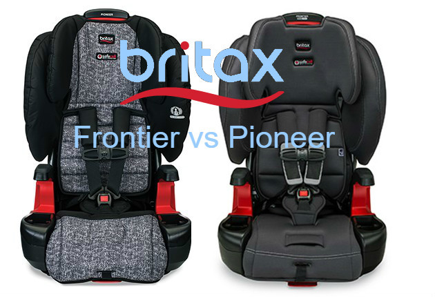 Britax Frontier vs Pioneer Child Car Seats