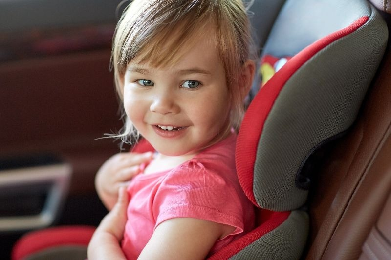 Lightweight convertible car seat for travel