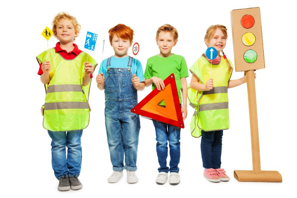 safety games for kids - dressing up